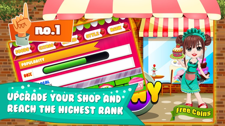 Cupcake Dessert Pastry Bakery Maker Dash - candy food cooking game! screenshot-3