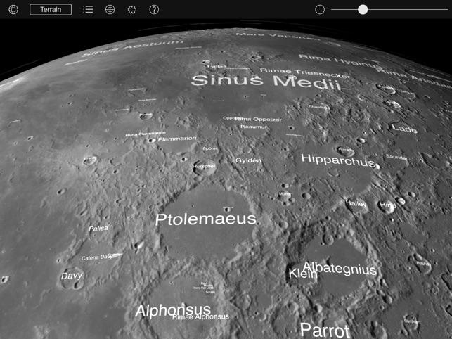 Moon Globe HD on the App Store
