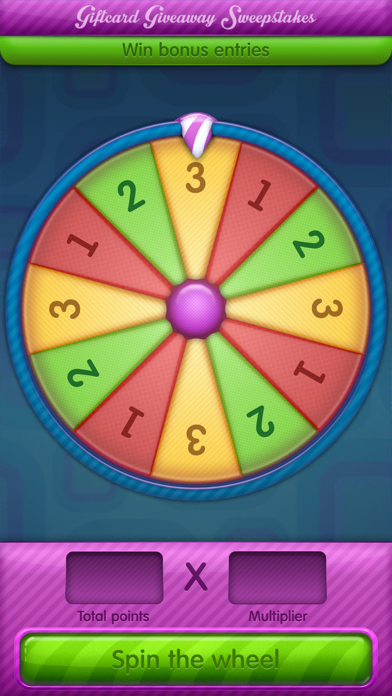 Giftcard Giveaway Sweepstakes screenshot four
