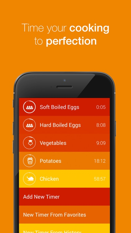 Kitchen Timer - Multiple Timers to Time Your Cooking to Perfection