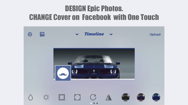 MagiCover: Timeline Cover Maker for Facebook screenshot-0