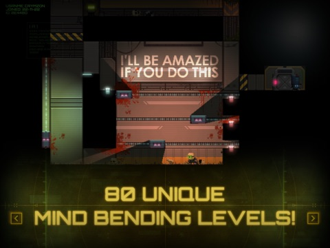 Stealth Inc. Screenshot