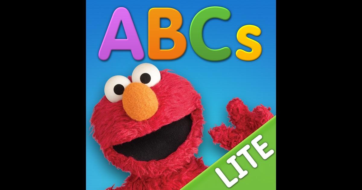 Elmo loves abcs lite for ipad on the app store for Elmo abc