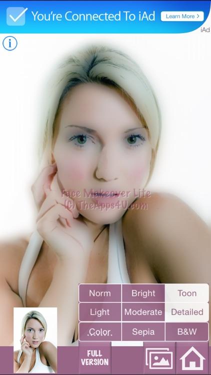 Face Makeover Lite screenshot-4