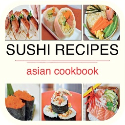 Sushi Recipes - Asian Cookbook for iPad