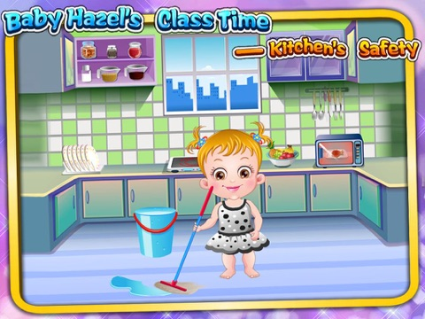 Baby Hazel's Class Time : Kitchen's Safety на iPad