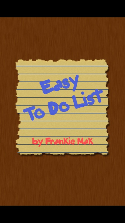 Easy To Do List
