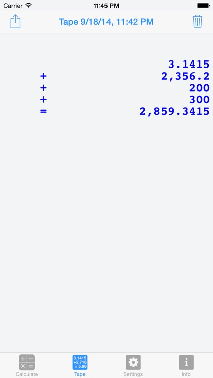 Calculator Silver Lite