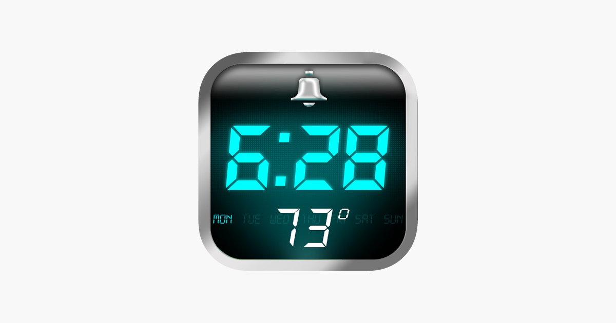 what is the best free alarm clock app for iphone