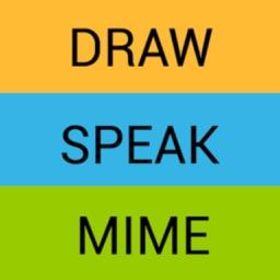 Draw Speak Mime - Charades