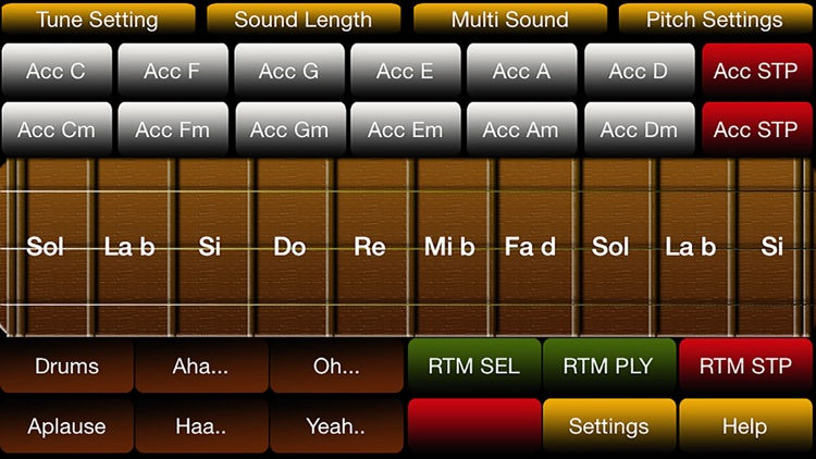 baghlama turkish / azeri music organ instrument simulator free screenshot-0