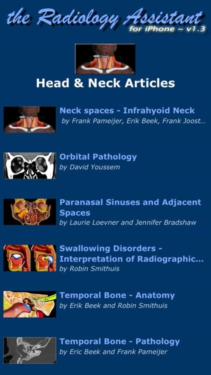 Radiology Assistant - Medical Imaging Reference screenshot-3
