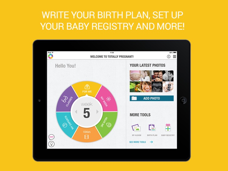 Totally Pregnant - The Total Pregnancy Experience For iPad screenshot-3