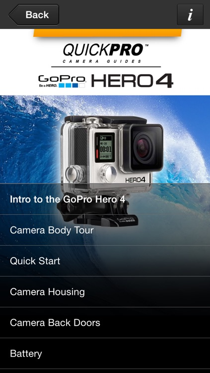 QuickPro Training + Controller for GoPro  Hero 4 Black