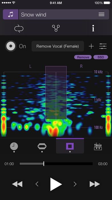 PSOFT Audio Player screenshot1