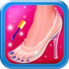 Cinderella's Woods Nail Salon - Beauty Make-Over Design & Fashion Manicure Dress-Up (Free Maker Games for Girls)