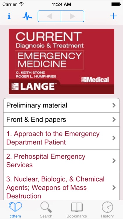 CURRENT Diagnosis and Treatment Emergency Medicine, Seventh Edition