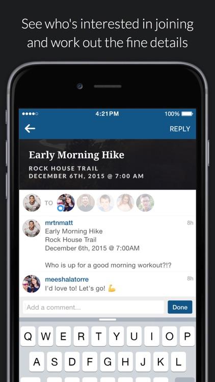Plangram - Share and make plans via Instagram Direct screenshot-4