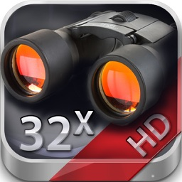 Binoculars HD (32x zoom, photo & video recording)