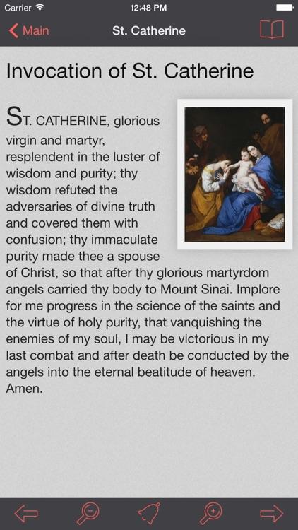 Fourteen Holy Helpers Lite: Catholic Novena and Prayers screenshot-0