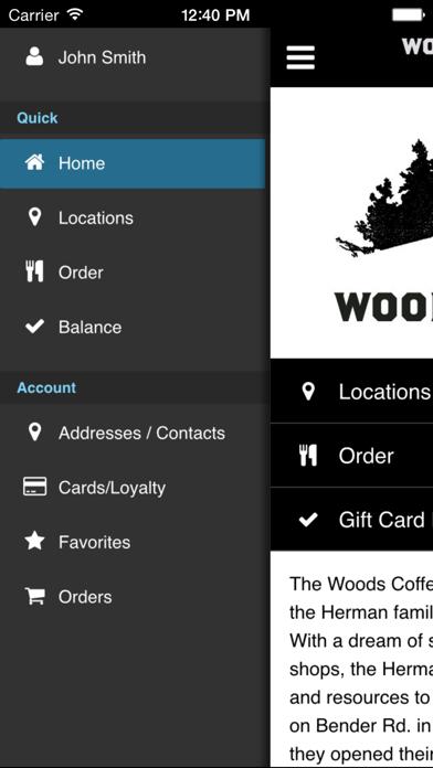The Woods CoffeeScreenshot of 2