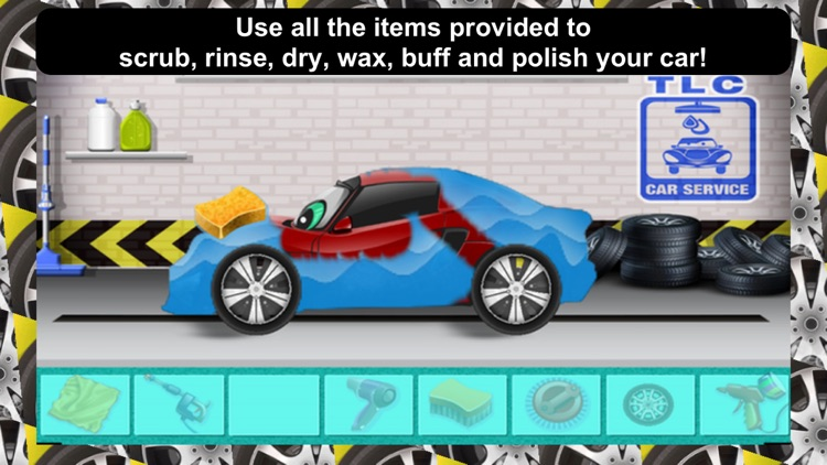 Awesome Lightning Fast Car Wash Salon and Auto Repair Game For Kids