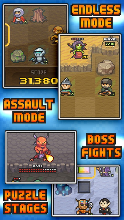 Pixel Defenders Puzzle screenshot-3