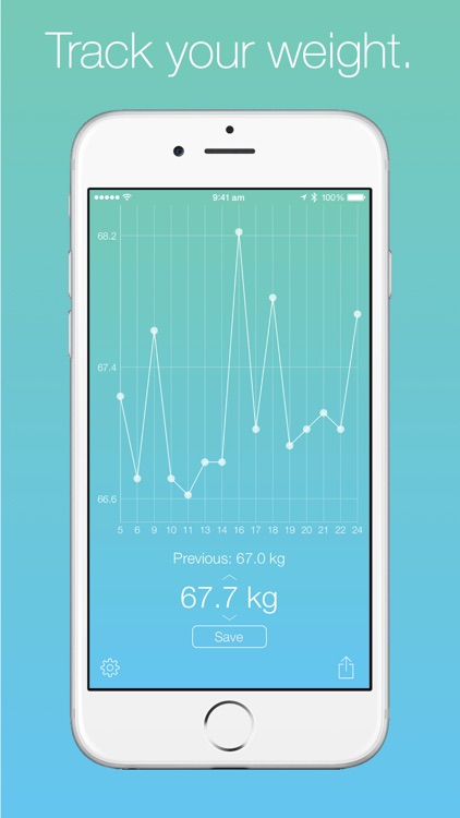 Weight Tracker! screenshot-0