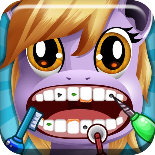 ' A Little Pony Dentist Magic Tooth Doctor - Teeth Fixer Game
