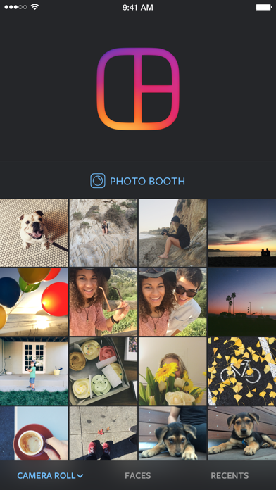 Download Layout from Instagram per Pc