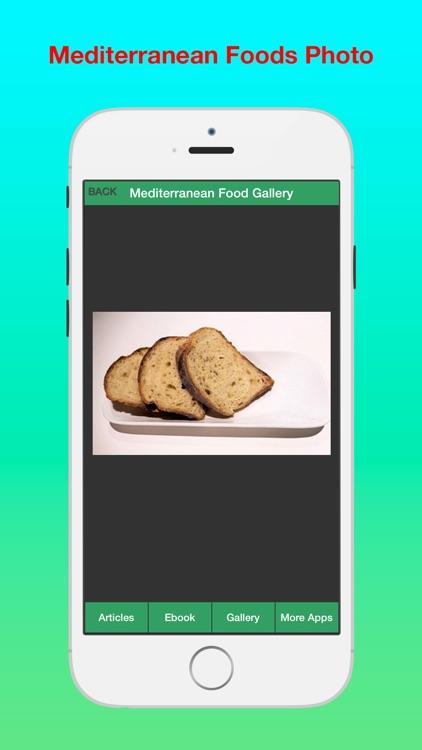 Mediterranean Diet Plus - Have a Great Healthy with Mediterranean Diet! screenshot-3