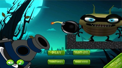 A Battle Bug Bandits Cannon-ball Shooters Skill Blast