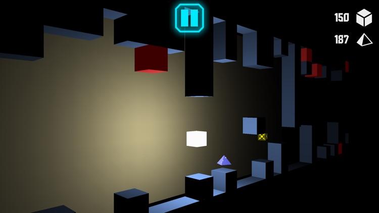 Cube Run - The Dark Building screenshot-0
