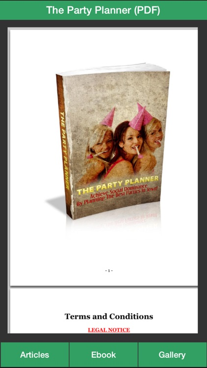 Party Planner Guide - A Guide To Planning Perfect Your Party! screenshot-2