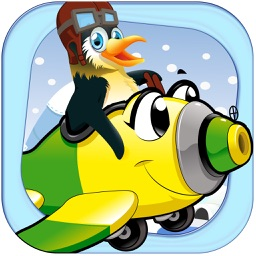 Flying Penguin Saga FREE - Crazy Wings Launch Mania