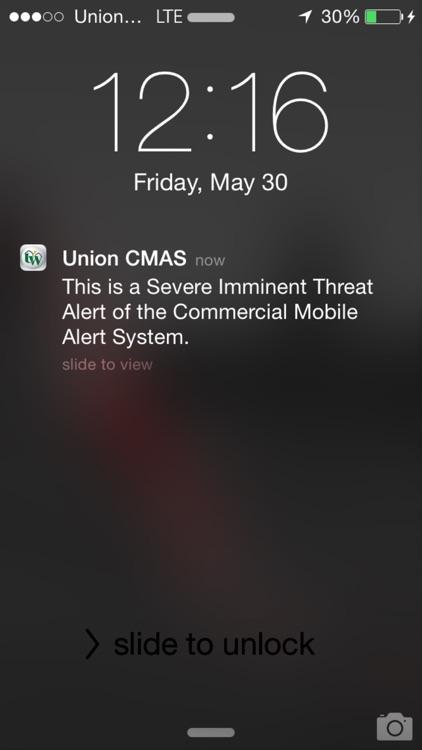 Union Wireless CMAS App