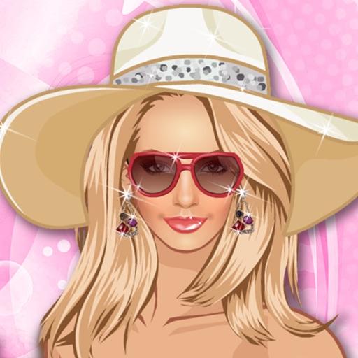 Одевалки: модница на пляже - игры для девочек и детей, принцесса и салон красоты, принцессы и звезда, одевашка для знаменитости