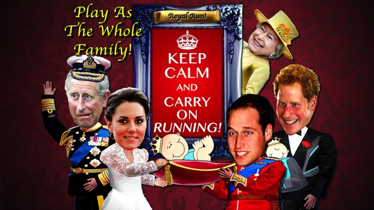 Royal Baby Run! Keep Calm And Carry On RUNNING! (FREE Edition)