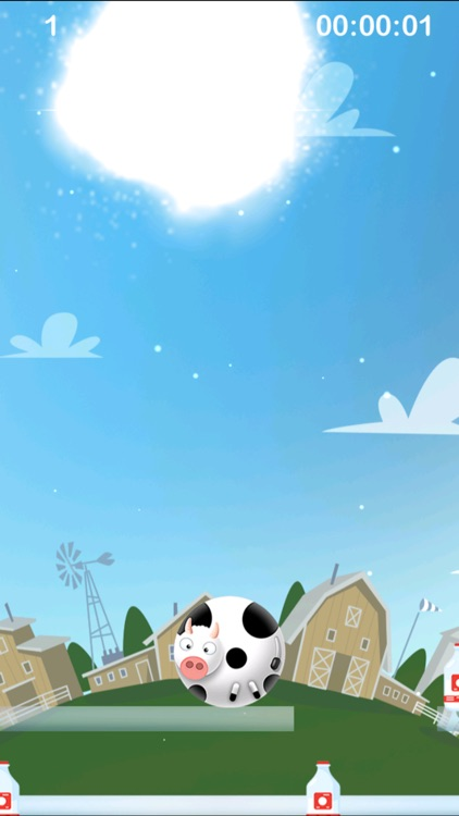 Farm Drop - Elemental Cow Survive screenshot-4