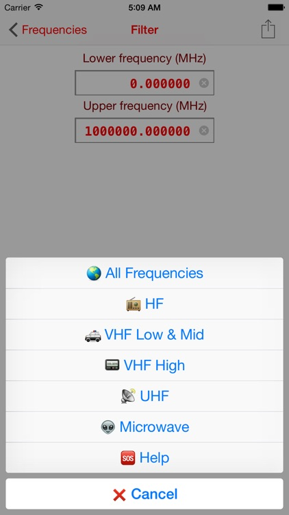 COMU Frequencies screenshot-3