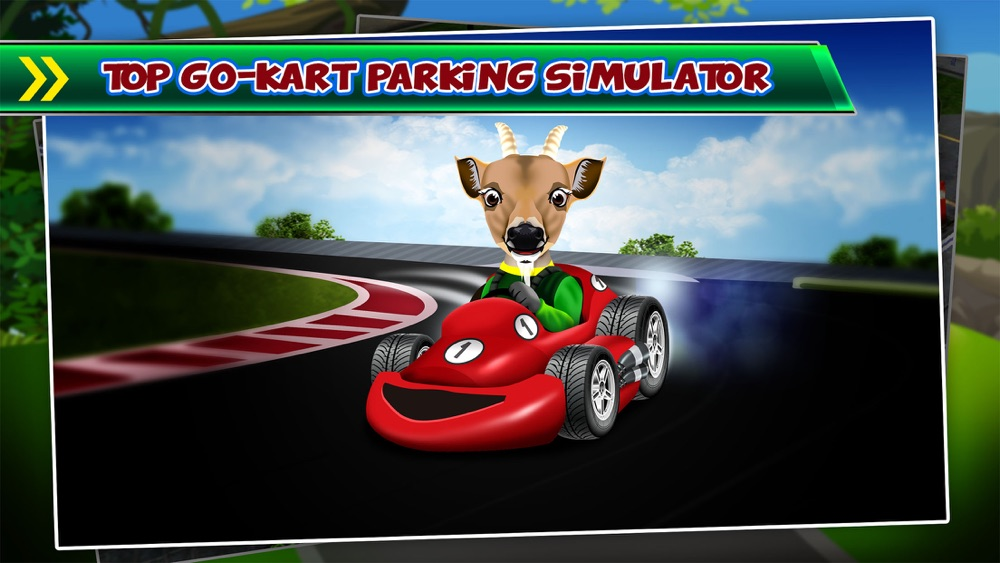 Goat Driving Car Parking Simulator – 3D Sim Racing & Dog Run Park Games! Cheat Codes