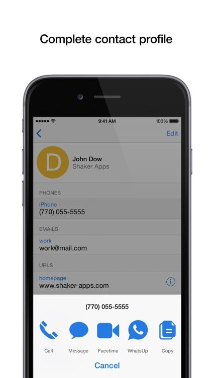 PhoneBook Pro screenshot-4