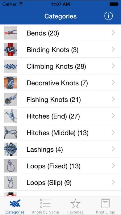 Knot Guide (100+ knots) screenshot three