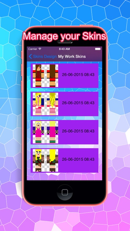PE Girl Skins for Minecraft Pocket Edition