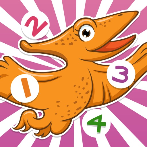 A Dinosaurs Game for Children: Learn about dinos for kindergarten and pre-school
