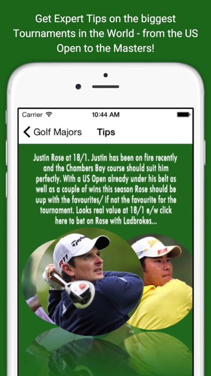 Golf Major Betting Tips and Free Bets - For the Open, USPGA, Masters and the US Open