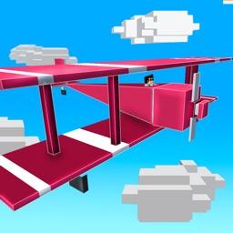 Blocky Plane Flight Simulator 3D Full