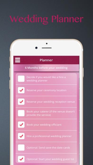Screenshot 5 For The Wedding Planner Ideas Countdown Checklist Vendors