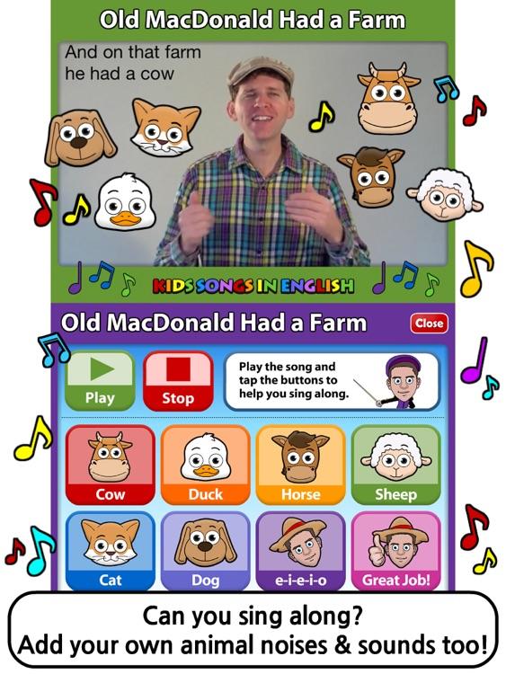Kids Songs in English 2 HD screenshot-3
