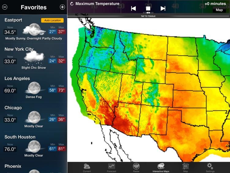 NOAA Weather and Radar for iPad screenshot-3